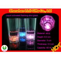 China Wholesale best cheap plastic light up flashing party glass FB12018 for bar, club on sale