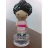 China 30ml Glass Happy Girl Perfume Bottle Caps For 15mm Crimp Bottle Neck / 9P Free PVC wholesale
