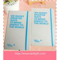 China custom A5 size leather notebook with elastic band on sale