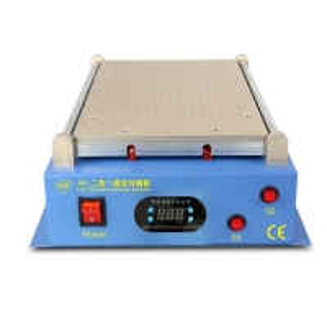 China Factory direct sales 2 in 1 vacuum lcd separator for mobile+LCD screen repair machine for mobile wholesale