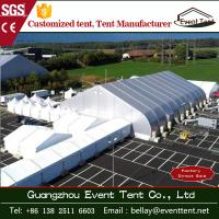China Airplane Aircraft Hangar Tent Curved PVC Cover Roof A Shape Tent Long Service Life wholesale