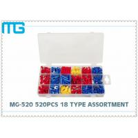 China MG - 520 18 Types Terminal Assortment Kit SV BV Red Blue Yellow 520 pcs OEM / DEM wholesale