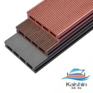China Floor Plastic Wood  Deck For Floating Dock  / Pontoon on sale