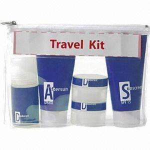 China Promotional Travel Kit/Travel Bottle Set/Lotion Refill Bottles wholesale