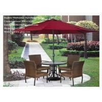 China PE(Synthetic)Rattan/Cane/Wicker Tables and Chairs on sale