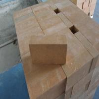 China Magnesia Zirconia Kiln Refractory Bricks 76% MgO Insulating Fire Brick Light Yellow wholesale