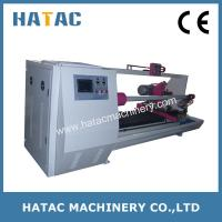 China Masking Tape/Double-side Tape Log Roll Cutting Machine,Tape Cutting Machinery wholesale