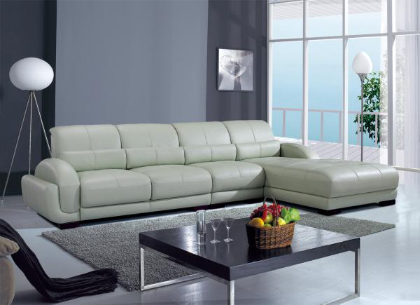 Superb img of C20; Genuine Leather living room sofa;china sofa; with #67443C color and 1417x1029 pixels