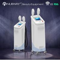 China Newest SHR two handles high power hair removal shr ipl laser on sale