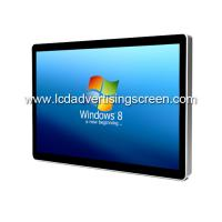 China 65 Inch 4K Wall-mount Windows 10 Interactive LCD Touch Dcreen Advertising Display with 4G wholesale