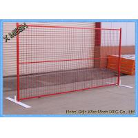 Buy cheap Powder Coated Temporary Mesh Fencing Low Carbon Steel Wire 8FT X 10FT Mesh Panel from wholesalers