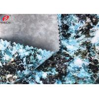 China Wear - Resistant Stretch Polyester Spandex Fabric TPU Coated Waterproof For Garment wholesale