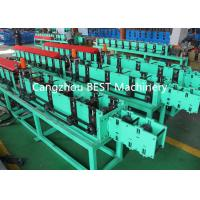 China Fenestrated Shutter Door Frame Roll Forming Machine 5.5kw Power PLC Control System wholesale