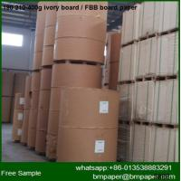 China 210G-400G Ivory Board Paper / FBB wholesale
