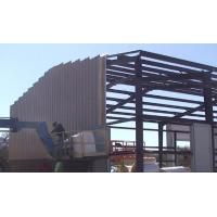 China Anti Rust Paint Prefab Steel Warehouse Metal Frame Structure Large Size ISO9001 wholesale