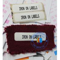 Hot melting school uniform name tag iron on label for Epson C3500 C7500 inkjet printer