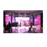 China IP45 SMD P10 Rental LED Displays 10000levels Gray Scale Per Color Indoor / Outdoor on sale