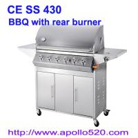 China Gas Barbecue Grill with Rear Burner wholesale