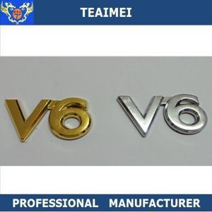 China Decoration Custom Car Emblems Chrome ABS Plastic Car Badges Emblem wholesale