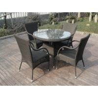 China Leisure Rattan Garden Dining Sets Patio For Home / Restaurant on sale