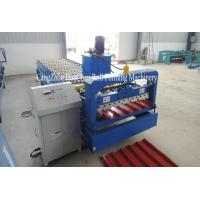 China High Speed Roofing Sheet Roll Forming Machine / Roof Metal Former on sale