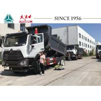 China HOWO Light Weight E7G 16CBM 6x4 Dump Truck With Euro IV Engine For Peru on sale