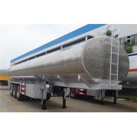 China 50000 Liters Oil Fuel Delivery Truck Transportation Tank , Fuel Tank Semi Trailer wholesale
