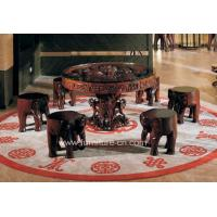 China Wood Sculpture Furniture, Dining Room Furniture, Wooden Mascot wholesale