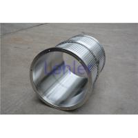 China Stainless Steel Wedge Wire Basket Support Rod 2.0*3.0mm 20 Thickness wholesale