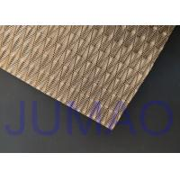 China Light Architectural Metal Fabric Customized Art Wire Mesh For Space Divider wholesale