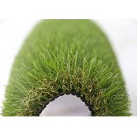 35MM Natural Looking Garden Outdoor Artificial Turf  For Lawns / Children Playground