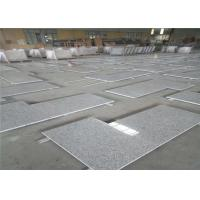China Polished L Shaped Granite Countertop , Prefabricated Stone Countertops L Shape Seam wholesale