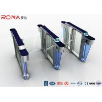 China Security Swing Speed Gate Turnstile 304 Stainless Steel Materials Mechanical Structure wholesale