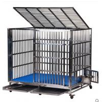 China Stainless steel square tube dog cage wholesale
