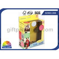 China Custom Kids Toys / Dolls Corrugated Packaging Box with Clear Windows , Paper Gift Boxes wholesale