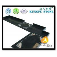 China Xiamen Kungfu Stone Ltd supply Shanxi Black Stone Countertop In High quality and cheap price on sale