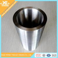 China ASTM B338 Gr2 Welded Titanium Exhaust Pipes on sale