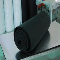 China Black Color Rubber Pipe Insulation Tube on sale