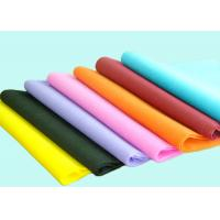 Colorful PP Spunbond Non woven Disposable Bed Sheet 40 GSM Environmental friendly