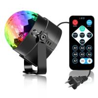 China Sound Activated Professional LED Light Disco Ball Party Lights For Christmas Home on sale