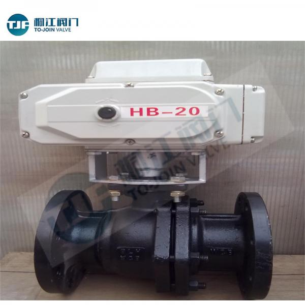 Quality Petrol Chemical Valve Float Ball Valve with Carbon Steel WCB / Stainless for sale
