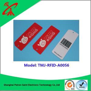 China UHF RFID 860-960MHZ plastic tag Custom Mini rfid pvc plastic luggage tag wholesale