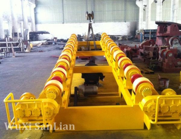 Quality 15T Pipe Tank Turning Rolls for Boiler for sale