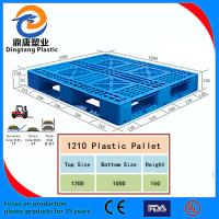 China Black Color High Quality Nestable Plastic Pallet for Sale wholesale
