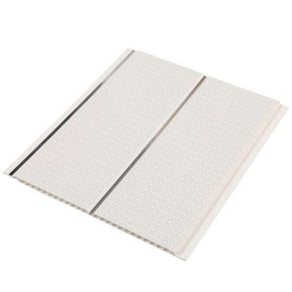 Quality 10 Inch Light PVC Ceiling Panels Kitchen False Roof Hollow Design for sale