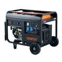 China Black Color 40A - 190A Gasoline Welder Generator 60Hz 3600rpm High Speed wholesale