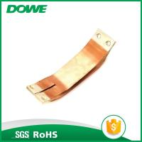 China Electrical soler tinned compact copper foil connector on sale