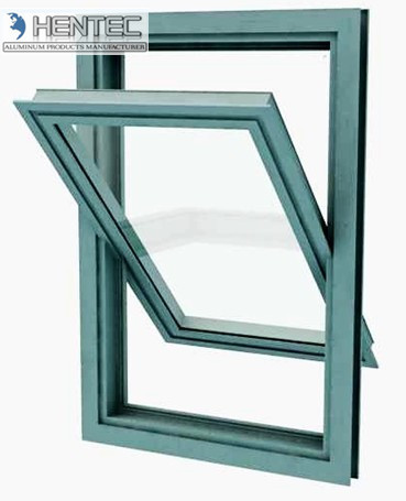 Quality 6005 6082 T4 T5 T6 T66 aluminium window sections , metal window frames for sale