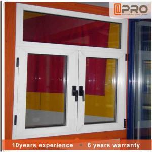 China Horizontal Aluminium Frame Casement Window , Double Panel French Casement Windows on sale