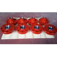 China Alloy Steel Wellhead RTJ Weld Neck Flanges / Flanged Spool Adapter 2 1/16 on sale